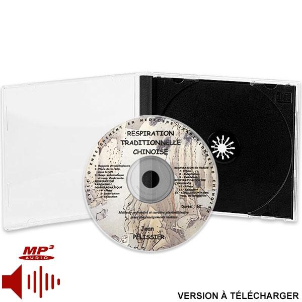 CD Respiration Traditionnelle Chinoise (version téléchargeable), réalisé par Jean Pélissier.
