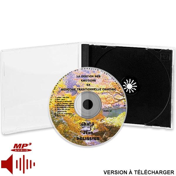 CD Gestion des Émotions en MTC (2ème partie, version téléchargeable), réalisé par Jean Pélissier.