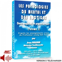 Coffret les Pathologies du Mental et des Emotions (Volume 1, version téléchargeable)  à la vente, medecine traditionnelle chinoise.