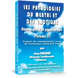 Coffret les Pathologies du Mental et des Emotions (Volume 2)  à la vente, medecine traditionnelle chinoise.