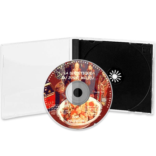 CD la Diététique du Juste Milieu, réalisé par Jean Pélissier.