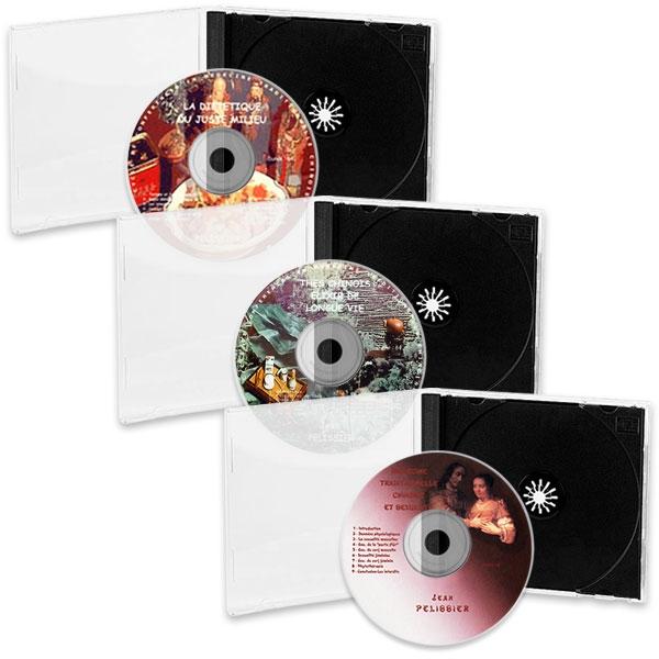 Pack 3 CD de MTC : Diététique, Thés Chinois et Sexualité, réalisé par Jean Pélissier.