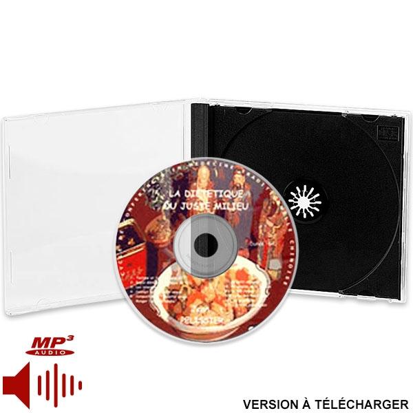 CD la Diététique du Juste Milieu (version téléchargeable), réalisé par Jean Pélissier.