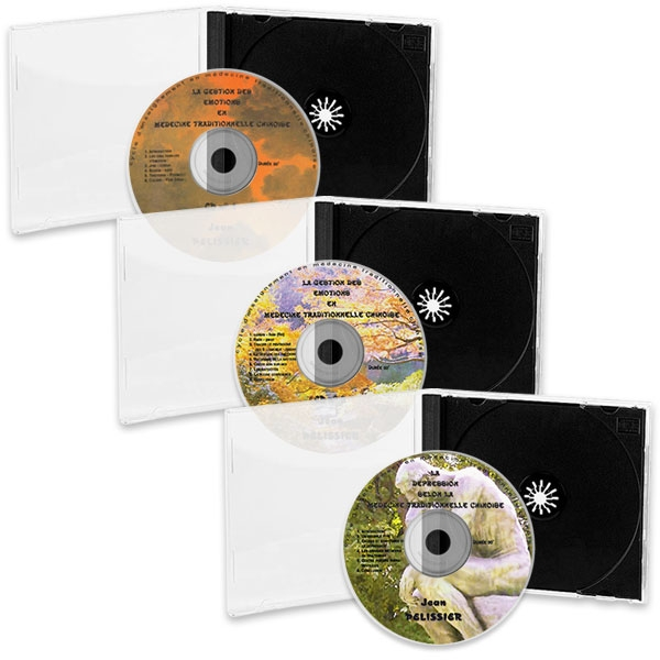 Pack 3 CD de MTC : Gestion des Émotions (1ère et 2ème parties) et la Dépression, réalisé par Jean Pélissier.