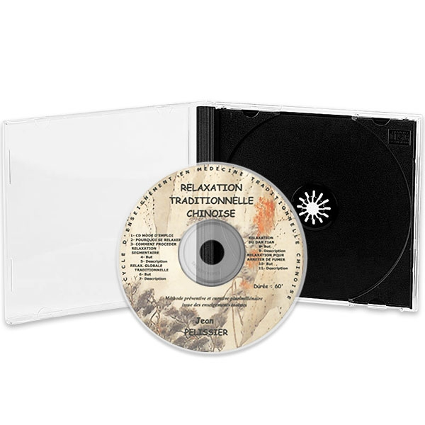 CD Relaxation Traditionnelle Chinoise, réalisé par Jean Pélissier.
