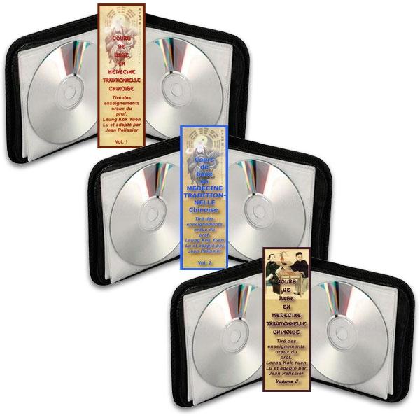 Pack 3 coffrets Cours de base MTC (Volume 1, 2 et 3), réalisé par Jean Pélissier.