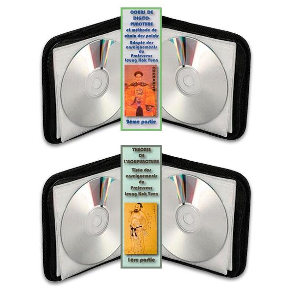 Pack 2 coffrets Accupuncture (Volume 1) et Digitopuncture MTC, réalisé par Jean Pélissier.