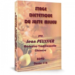 Coffret Stage Diététique du Juste Milieu, réalisé par Jean Pélissier.