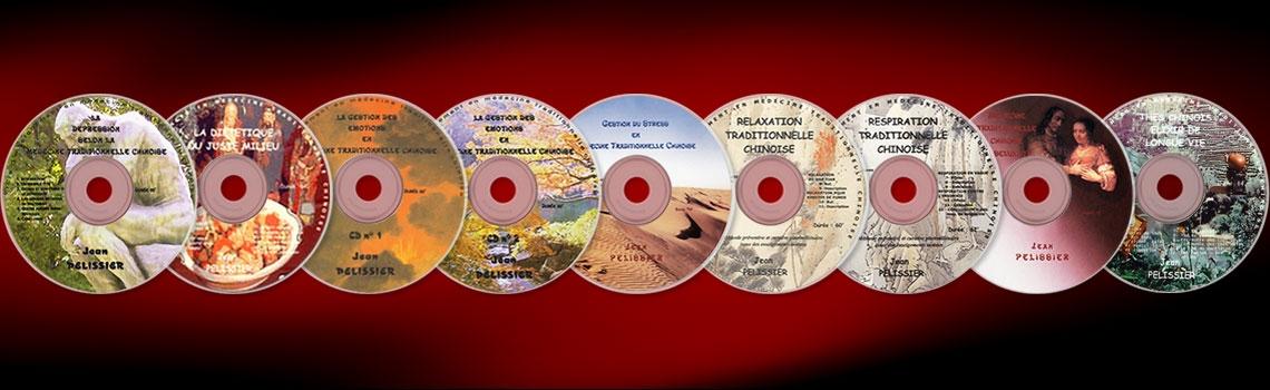 Collection de CD Audio sur la Médecine Traditionnelle Chinoise